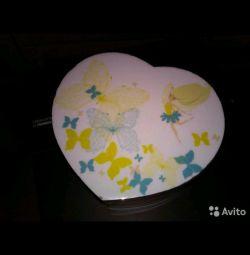 Casket heart Gift for the girl