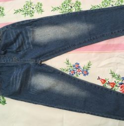Нові джинси для хлопчика довжина-71см