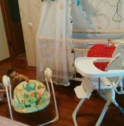 3в 1' в спальном комплекте малыша все .