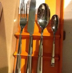 Cutlery set of 4 items
