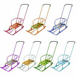 Timka push-push 4 culori sanie