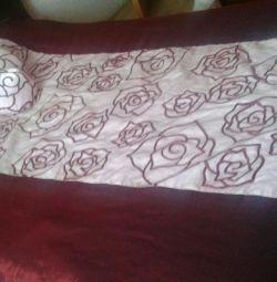 Bedspread + pillows