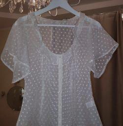 Летняя соблазнительная блузка