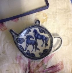 Stand pentru sacul de ceai nou