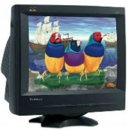 P95f + b monitor LCD ViewSonic gray in excellent
