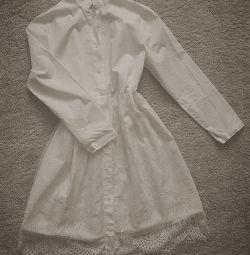 Платье хлопковое новое