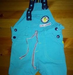 Overalls for children for summer