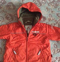 Тeплая курточка на рост 92 см
