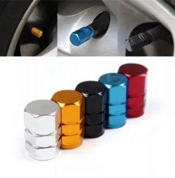 Caps of tire valves