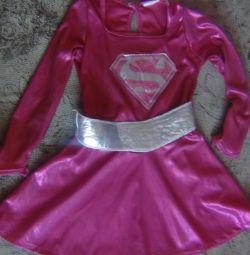 costume Barbie dress super hero