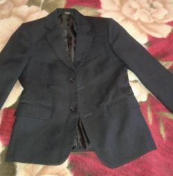 School black jacket 134cm. Boy