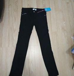 Pantaloni întinși nou, cu izolație la 146