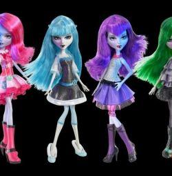 Mystixx Κούκλες, Νέα