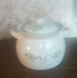 Caserola ceramică