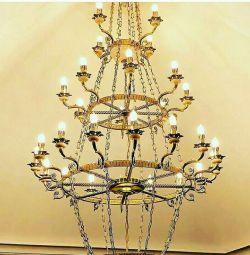 Chandeliers. Wall lamp .. Fixtures ..