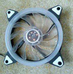 Ventilator 120x120 cu iluminare de fundal