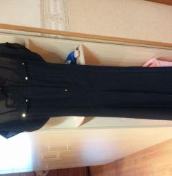 Dimensiunea rochiei de seară 46.