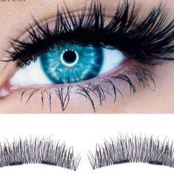 Eyelashes on the magnet sale