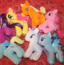 М'які іграшки My little pony