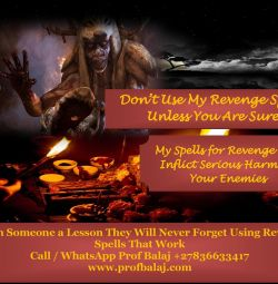 Most Powerful Revenge Spells That Work Overnight