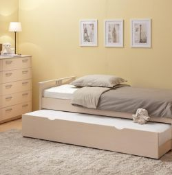 Кровать выдвижная подростковая