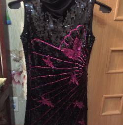 Rochie cu șireturi