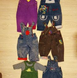 Overalls for children 1-1.5 years