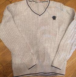 Bluză bumbac. Uniformă școlară.