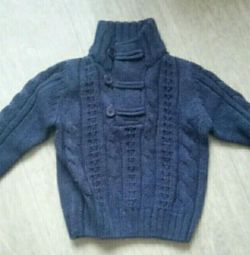 Sweater thick knitting of river 104