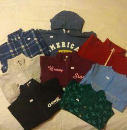Tişörtü, hoodies