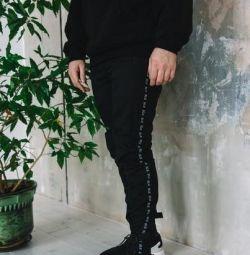 Джоггер Line black