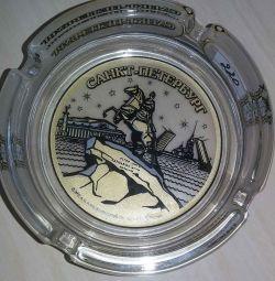 Пепельница логотип санкт-петербурга