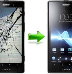Οθόνη Sony xperia