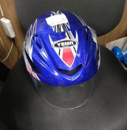 Мотошлем YEMA helmet