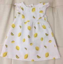 Φόρεμα από ύφασμα ζακάρ Zara