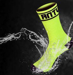 Waterproof socks with membrane