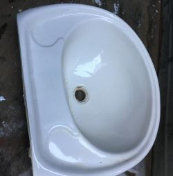 Sink from the new building