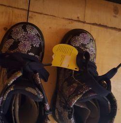 Нові черевики 25 розмір