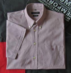 Рубашка сорочка лето Ted Lapidus Франция оригинал