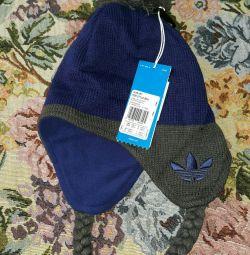 Palarie Adidas albastru pentru copii