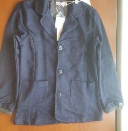Jachetă denim.
