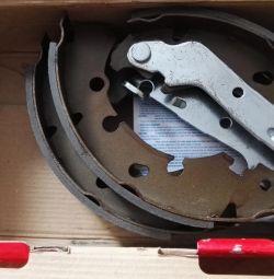 New drum brake shoes
