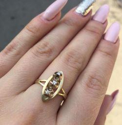Кільце з діамантами
