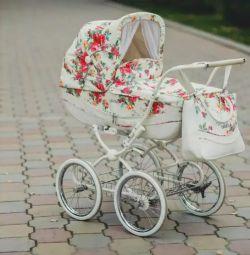 ΕΠΕΙΓΟΝΤΑ! Καροτσάκι μωρού Geoby C605 LUX + κάθισμα αυτοκινήτου.