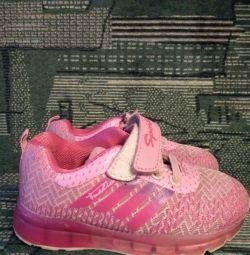 Sneakers are children's