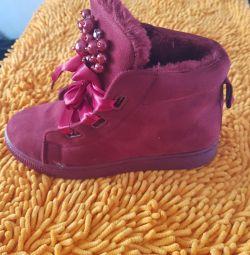 Şık bayan ayakkabıları