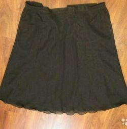 Черная юбка новая