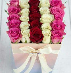 Bir kutu çiçek