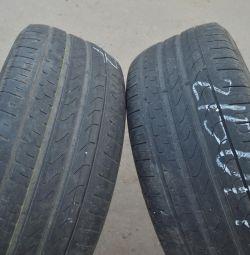 225-50-R17 Pirelli P7 RunFlat Ζεύγος καλοκαιρινών ελαστικών
