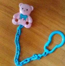 Clip holder for dummy